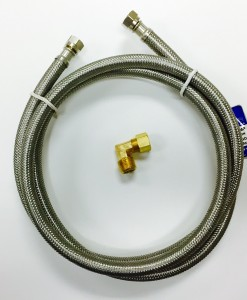 "72"" Stainless Steel Hose Dishwasher Connection Kit Cat. No. 335S172"