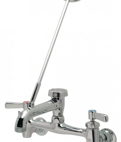 Mop Faucet : Zurn Z843M1-XL Polished Chrome Mop Sink Faucet Cat. No. 9ZR8431